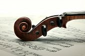 picture of violin  - Music collection - JPG