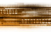 stock photo of binary code  - Binary Code and Data Background Online as Concept - JPG
