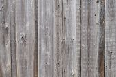 Rough Gray Wooden Boards Background