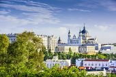 picture of royal palace  - Madrid - JPG