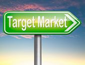 foto of niche  - target market business targeting for niche marketing strategy  - JPG