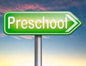 stock photo of playgroup  - preschool education kindergarten nursery school or playgroup  - JPG