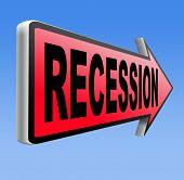 image of stock market crash  - recession  in world economy crisis bank and stock crash economic and financial bank recession market crash    - JPG