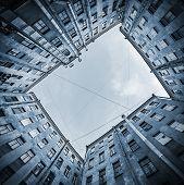 stock photo of quadrangles  - Court yard - JPG
