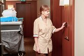 stock photo of maids  - Time for room service - JPG