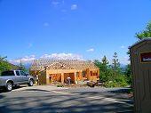 picture of burlington  - new home construction atop burlington hill - JPG