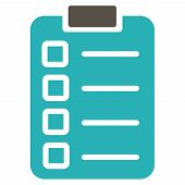 pic of tasks  - Test task icon from Business Bicolor Set - JPG