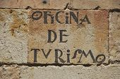 Tourist Office In Salamanca poster