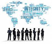 foto of honesty  - Integrity Honesty Sincerity Trust Reliability Concept - JPG