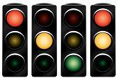 foto of traffic light  - Traffic light - JPG