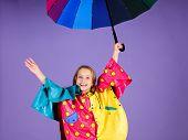 Enjoy Rainy Weather With Proper Garments. Waterproof Accessories For Children. Waterproof Accessorie poster