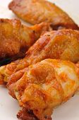 Spicy Chicken Wings poster