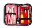 picture of etui  - Tool set in a case with zipper - JPG