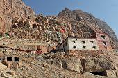 Постер, плакат: Chuku Гомпа буддийский монастырь возле Святая гора Кайлаш Тибет