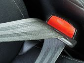 stock photo of seatbelt  - fasten seat belts in the car for your safety - JPG