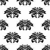 Repeat Seamless Pattern Of Arabesques