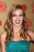 vLOS ANGELES - JAN 12:  Lili Simmons at the HBO 2014 Golden Globe Party  at Beverly Hilton Hotel on