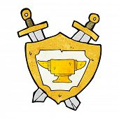 picture of anvil  - cartoon blacksmith anvil heraldry symbol - JPG