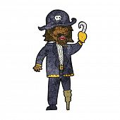 pic of peg-leg  - cartoon pirate captain - JPG
