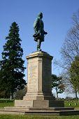 Civil War Monument At Fredricksburg poster