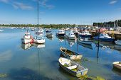 picture of off-shore  - Bembridge St Helens harbour Isle of Wight in the English Channel off the Hampshire coast - JPG