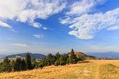 foto of pieniny  - autumn mountain landscape - JPG
