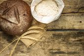 foto of husbandry  - Bakery background - JPG