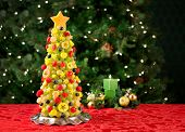 picture of melon  - Fruit Christmas tree - JPG