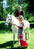 picture of horse riding  - horse riding - JPG
