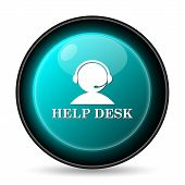 pic of helpdesk  - Helpdesk icon - JPG