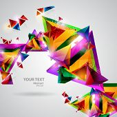 image of geometric shapes  - Background of geometric shapes - JPG