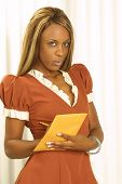 image of african american hair styles  - waiting on you is a lovely african american waitress - JPG