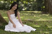 Asian Bride Outdoors 2 poster