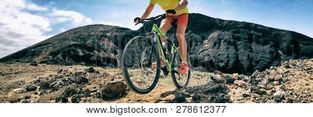 Mountain bike MTB biking athlete