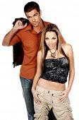 pic of hottie  - Glamorous couple fashionably dressed - JPG