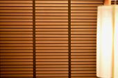Blinds In A Home Catching The Sunlight, Wooden Shutter Window Background.blinds. Window Blind. Blind poster