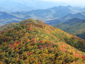 pic of smoky mountain  - View from The Hangover in the Great Smoky Mountains North Carolina - JPG