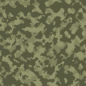 foto of camo  - Adstract pattern like Green tones military camouflage - JPG