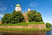 image of olaf  - St Olaf old castle in Vyborg city - JPG