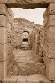 picture of sate  - Fragment of the Avdat National Park World Heritage Sate - JPG