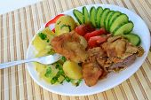 picture of liver fry  - Deep - JPG