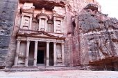 pic of treasury  - The treasury building at the ancient city - JPG