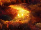 stock photo of big-bang  - Universe Is Not Enough series - JPG