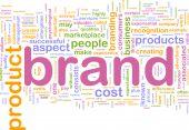 Brand Marketing Background Concept poster