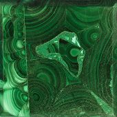 picture of malachite  - Texture of nature  - JPG