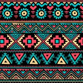 foto of tribal  - Tribal vintage ethnic seamless for your business - JPG