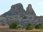 foto of goreme  - Goreme, The temple of Bel in Turkey