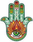 foto of hamsa  - Decorative symbol - JPG