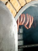 stock photo of sausage  - Traditional food - JPG