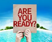 stock photo of disaster preparedness  - Are You Ready - JPG
